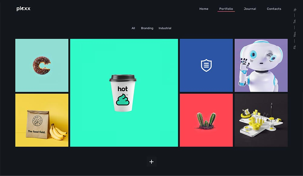 Plexx - Portfolio and Video Gallery for Agency and Studio - 3